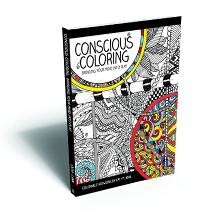 Cover for Conscious Coloring by Cathy Lynn
